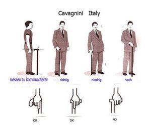 Come si usa un bastone da passeggio