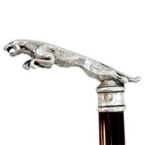 manico-del-bastone-con-giaguaro