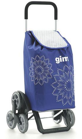 Gimi Tris Floral Carrello Portaspesa Blu - Deambulatore Subito
