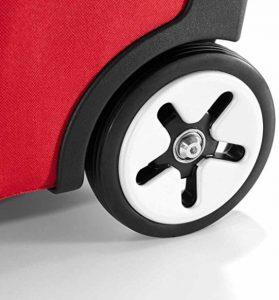 Design premiato per il carrello spesa rosso