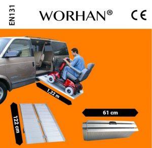 Pedana per disabili modello 122 Worhan
