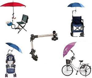 Porta ombrello universale per deambulatore e carrozzina