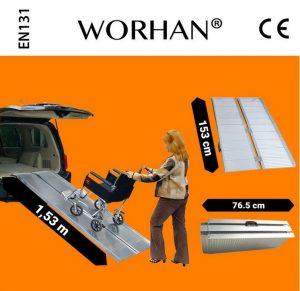 Rampa disabile modello 153 Worhan