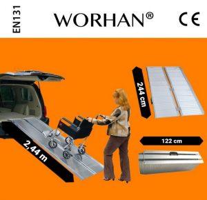 Rampa disabili modello 244 Worhan