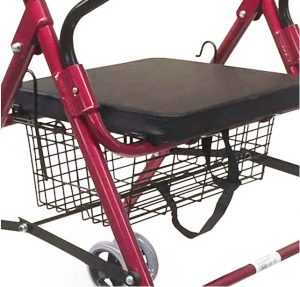 Sedile rollator deambulatore per artrosi