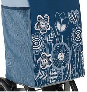 Design carrello portaspesa Gimi Rolling blu