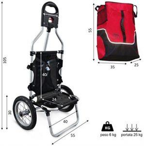 Dimensioni carrello rimorchio per bici Geko