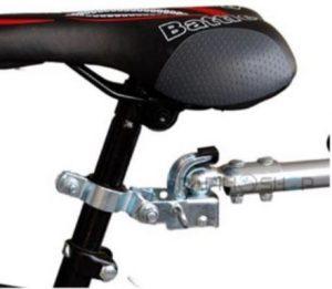 Gancio rimorchio bicicletta Geko