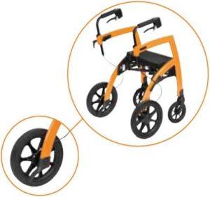 Rollz Motion Deambulatore con ruote grandi