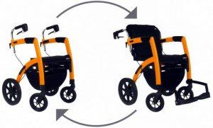 Rollz Motion deambulatore carrozzina trasformabile