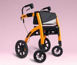 Rollz Motion deambulatore ibrido con sedia a rotelle
