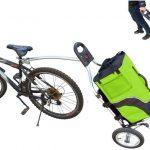 Trolley rimorchio per bici Geko