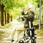 Ridder deambulatore pieghevole per anziani