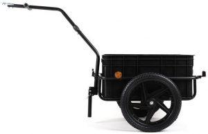 Carretto bici per trasporto spesa Duramaxx