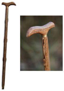 Bastone da passeggio in legno montagna donna