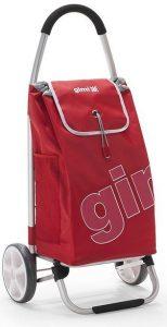 Carrello spesa Gimi Galaxy ruote alte rosso