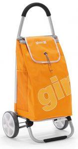 Carrello spesa Gimi Galaxy ruote grandi giallo