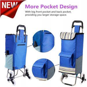 Carrello spesa design tasche porta oggetti