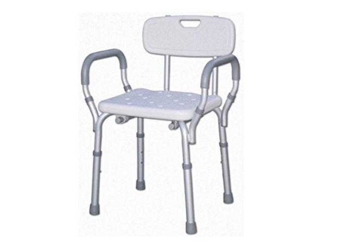 ▷ sedile per doccia e vasca da bagno schienale braccioli
