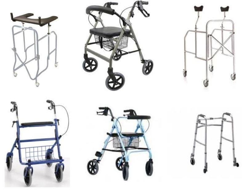 Codice iso Deambulatore anziani e disabili