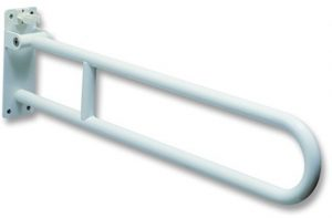 Barra di sostegno ribaltabile a muro 85 cm