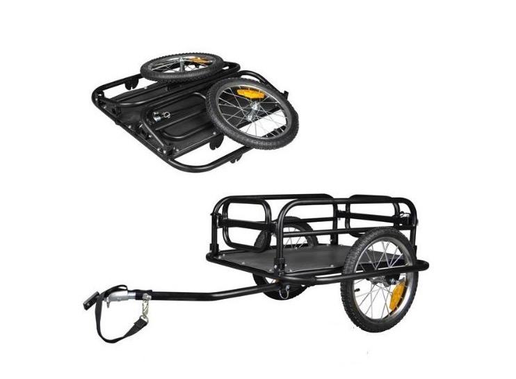 Carrello per bici universale per tutte le biciclette - Carrello per bici porta cani ...