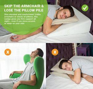 Cuscino Per Dormire Seduti.Cuscino A Cuneo Cuscino Ad Angolo Per Letto