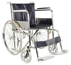 Carrozzina per disabili anziani pieghevole Gima
