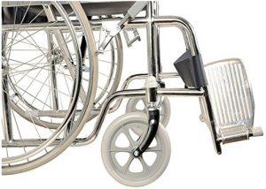 Carrozzina pieghevole per anziani disabili Gima