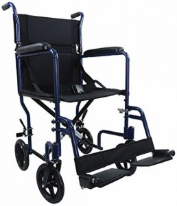 Carrozzine da viaggio disabili blu Ability