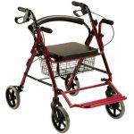 Deambulatore sedia a rotelle con poggia piedi unico prezzo