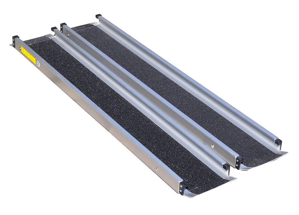 Sedie A Rotelle Per Scale : ▷ rampa per sedia a rotelle con guide telescopiche antiscivolo