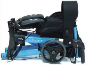 Rollator pieghevole da strada con sedile anziani