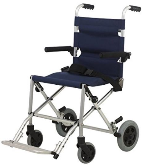 Sedia a rotelle da viaggio travel chair deambulatore subito for Larghezza sedia a rotelle