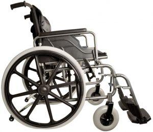 Sedia a rotelle larga larghezza lunghezza