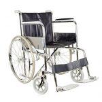Sedia a rotelle per anziani pieghevole Gima