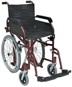 Sedia a rotelle per passaggi stretti winner slim