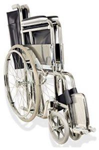 Sedia a rotelle pieghevole anziani disabili Gima