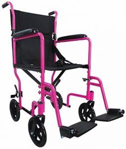 Sedia da transito viaggio rosa