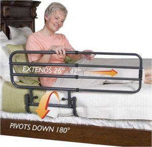 Sponda letto regolabile e saliscendi anziani sicurezza