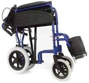 Sedia a rotelle ultraleggera pieghevole massima libert for Sedia a rotelle ruote piccole