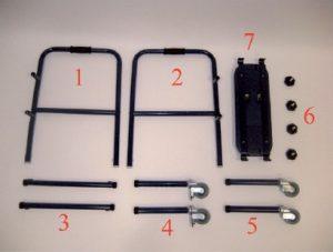 Deambulatore RP748 facile montaggio