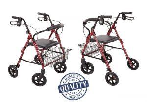 Deambulatore Rollator per anziani e disabili scelta modello
