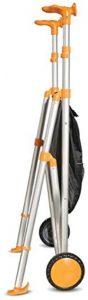 Deambulatore leggerissimo pieghevole arancio Airgo
