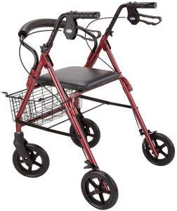 Deambulatore rollator per anziani e disabili misure dimensioni