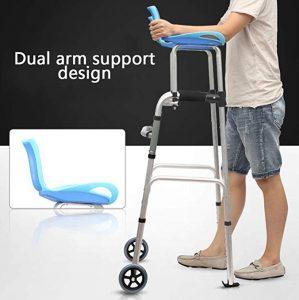 Deambulatore brachiale regolabile in altezza