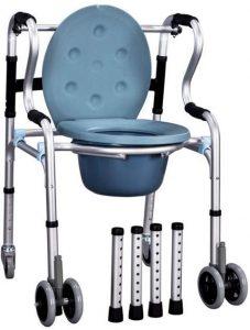 Deambulatore comoda con ruote