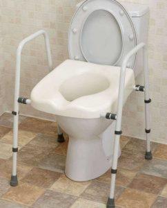 Rialzo per wc e bidet senza lavori di installazione