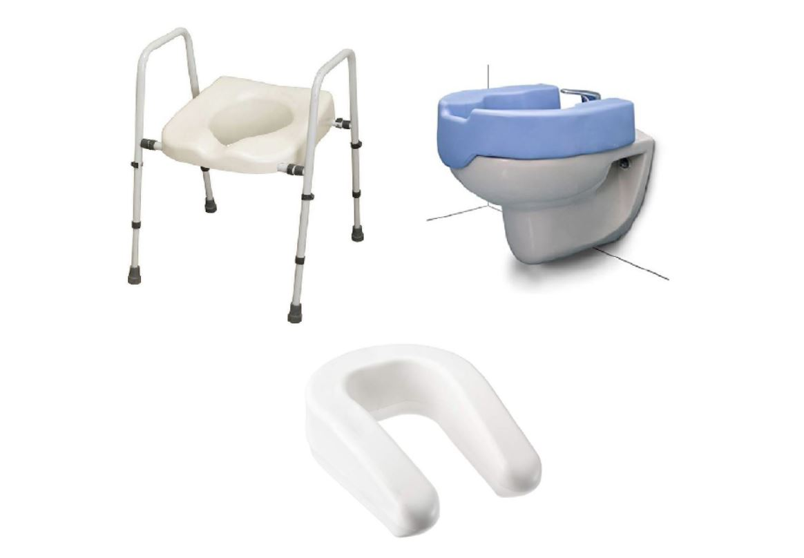 Rialzo per wc e bidet water universale per disabili e for Wc con bidet