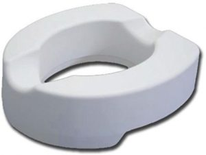 Rialzo wc in gommapiuma morbido